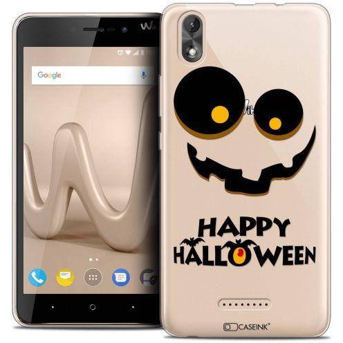 "Coque Crystal Gel Wiko Lenny 4 PLUS (5.5"") Extra Fine Halloween - Happy"