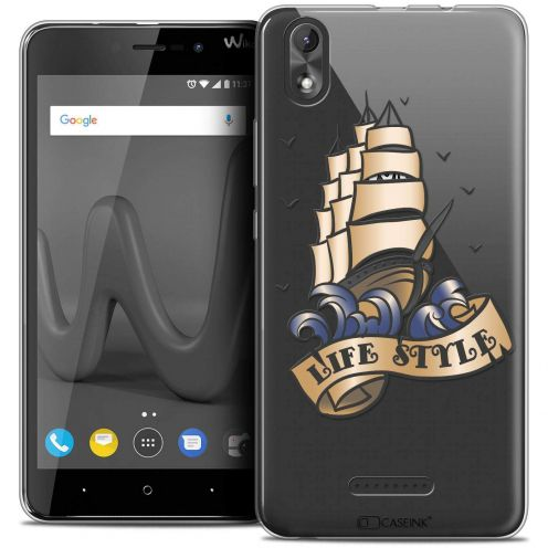 """Coque Crystal Gel Wiko Lenny 4 PLUS (5.5"""") Extra Fine Tatoo Lover - Life Style"""