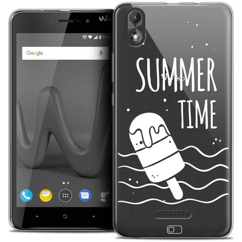 "Coque Crystal Gel Wiko Lenny 4 PLUS (5.5"") Extra Fine Summer - Summer Time"