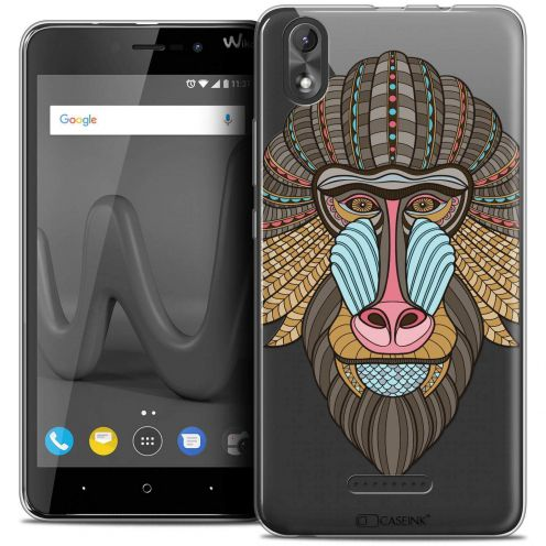 """Coque Crystal Gel Wiko Lenny 4 PLUS (5.5"""") Extra Fine Summer - Babouin"""