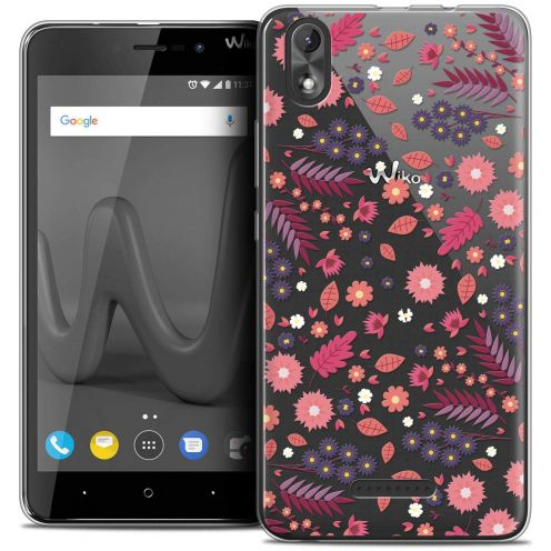 "Coque Crystal Gel Wiko Lenny 4 PLUS (5.5"") Extra Fine Spring - Printemps"