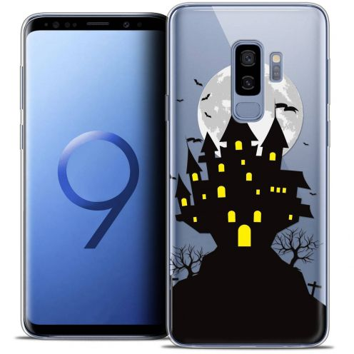 "Coque Crystal Gel Samsung Galaxy S9+ (6.2"") Extra Fine Halloween - Castle Scream"