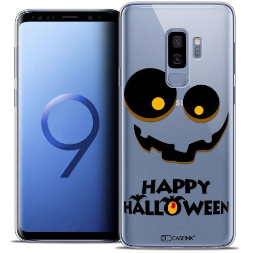 "Coque Crystal Gel Samsung Galaxy S9+ (6.2"") Extra Fine Halloween - Happy"