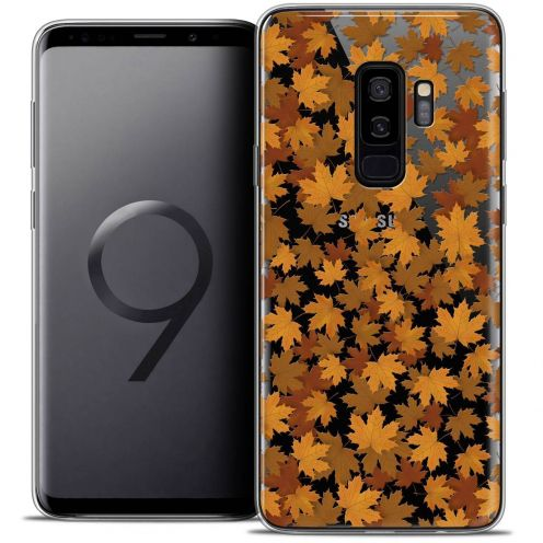"Coque Crystal Gel Samsung Galaxy S9+ (6.2"") Extra Fine Autumn 16 - Feuilles"
