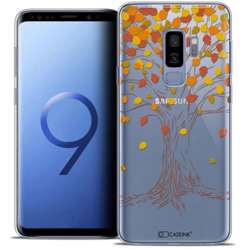 "Coque Crystal Gel Samsung Galaxy S9+ (6.2"") Extra Fine Autumn 16 - Tree"