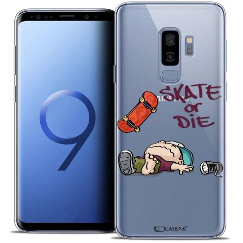 "Coque Crystal Gel Samsung Galaxy S9+ (6.2"") Extra Fine BD 2K16 - Skate Or Die"