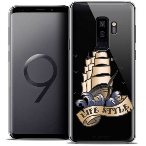 "Coque Crystal Gel Samsung Galaxy S9+ (6.2"") Extra Fine Tatoo Lover - Life Style"