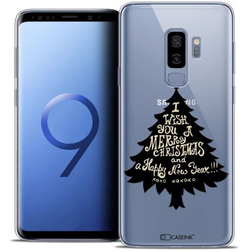"Coque Crystal Gel Samsung Galaxy S9+ (6.2"") Extra Fine Noël 2017 - XOXO Tree"