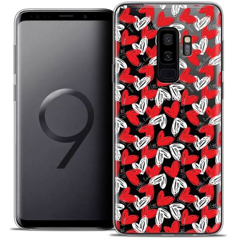 "Coque Crystal Gel Samsung Galaxy S9+ (6.2"") Extra Fine Love - With Love"