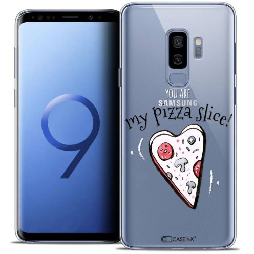 "Coque Crystal Gel Samsung Galaxy S9+ (6.2"") Extra Fine Love - My Pizza Slice"