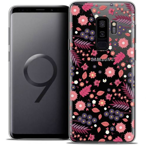 "Coque Crystal Gel Samsung Galaxy S9+ (6.2"") Extra Fine Spring - Printemps"