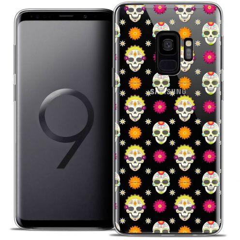 """Coque Crystal Gel Samsung Galaxy S9 (5.8"""") Extra Fine Halloween - Skull Halloween"""