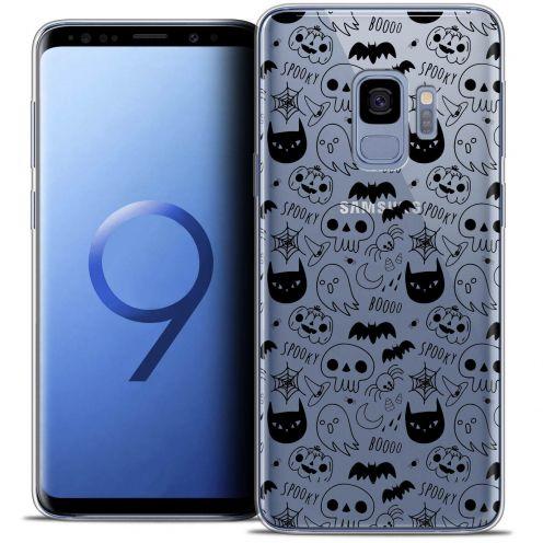 "Coque Crystal Gel Samsung Galaxy S9 (5.8"") Extra Fine Halloween - Spooky"