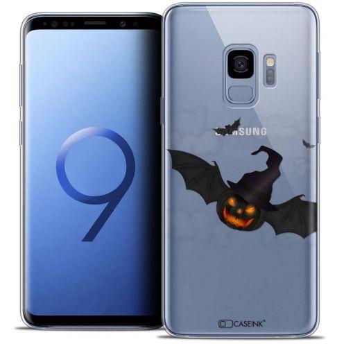 "Coque Crystal Gel Samsung Galaxy S9 (5.8"") Extra Fine Halloween - Chauve Citrouille"