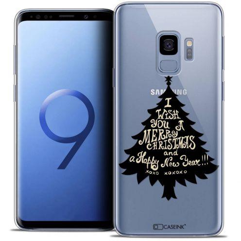 "Coque Crystal Gel Samsung Galaxy S9 (5.8"") Extra Fine Noël 2017 - XOXO Tree"