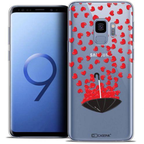 "Coque Crystal Gel Samsung Galaxy S9 (5.8"") Extra Fine Love - Parapluie d'Amour"