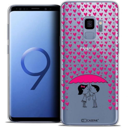 "Coque Crystal Gel Samsung Galaxy S9 (5.8"") Extra Fine Love - Pluie d'Amour"
