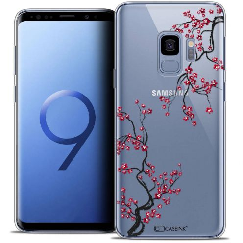 "Coque Crystal Gel Samsung Galaxy S9 (5.8"") Extra Fine Summer - Sakura"