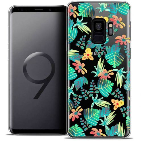 "Coque Crystal Gel Samsung Galaxy S9 (5.8"") Extra Fine Spring - Tropical"
