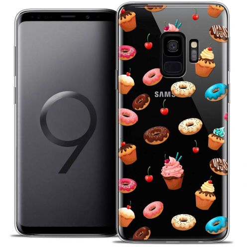 "Coque Crystal Gel Samsung Galaxy S9 (5.8"") Extra Fine Foodie - Donuts"