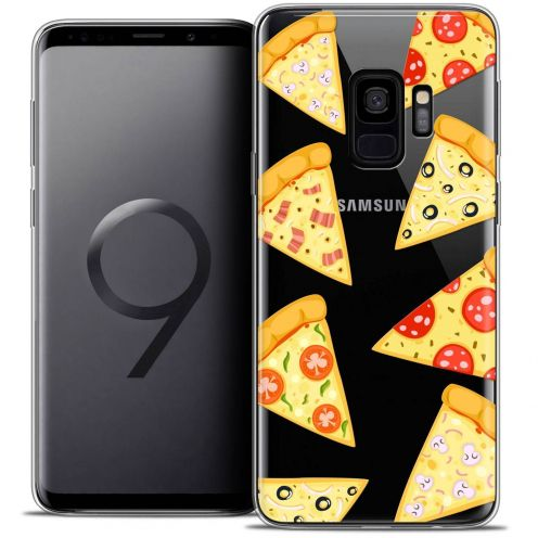 "Coque Crystal Gel Samsung Galaxy S9 (5.8"") Extra Fine Foodie - Pizza"
