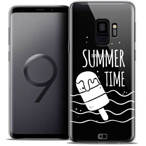 "Coque Crystal Gel Samsung Galaxy S9 (5.8"") Extra Fine Summer - Summer Time"