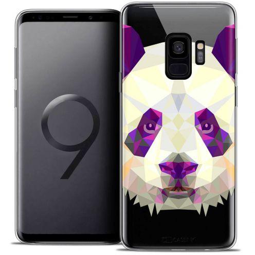 """Coque Crystal Gel Samsung Galaxy S9 (5.8"""") Extra Fine Polygon Animals - Panda"""