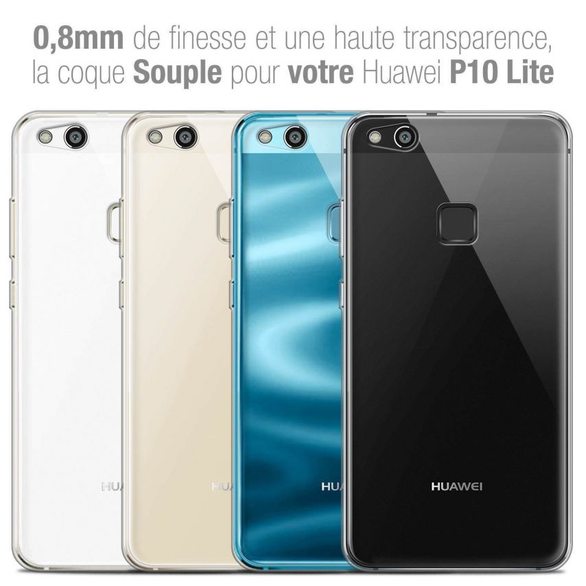 "Coque Huawei P10 LITE (5.2"") Extra Fine Souple Crystal Clear"