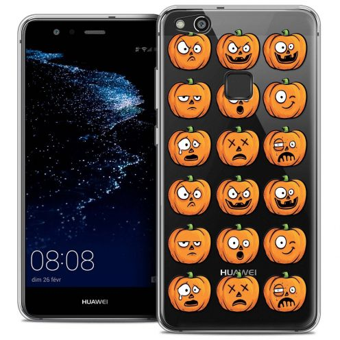 "Coque Crystal Gel Huawei P10 LITE (5.2"") Extra Fine Halloween - Cartoon Citrouille"