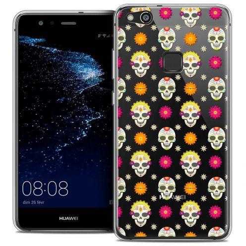 "Coque Crystal Gel Huawei P10 LITE (5.2"") Extra Fine Halloween - Skull Halloween"