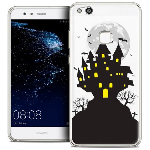 "Coque Crystal Gel Huawei P10 LITE (5.2"") Extra Fine Halloween - Castle Scream"