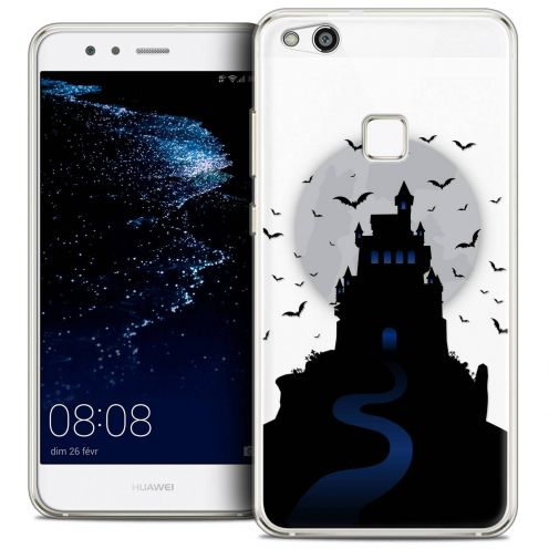 "Coque Crystal Gel Huawei P10 LITE (5.2"") Extra Fine Halloween - Castle Nightmare"