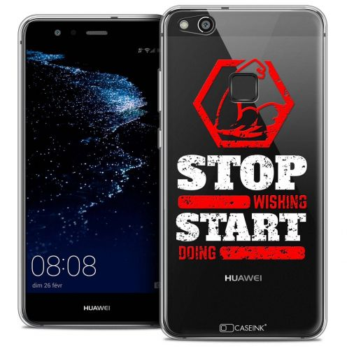 """Coque Crystal Gel Huawei P10 LITE (5.2"""") Extra Fine Quote - Start Doing"""