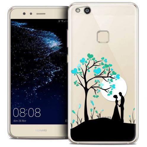 "Coque Crystal Gel Huawei P10 LITE (5.2"") Extra Fine Love - Sous l'arbre"