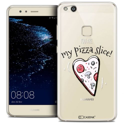 "Coque Crystal Gel Huawei P10 LITE (5.2"") Extra Fine Love - My Pizza Slice"