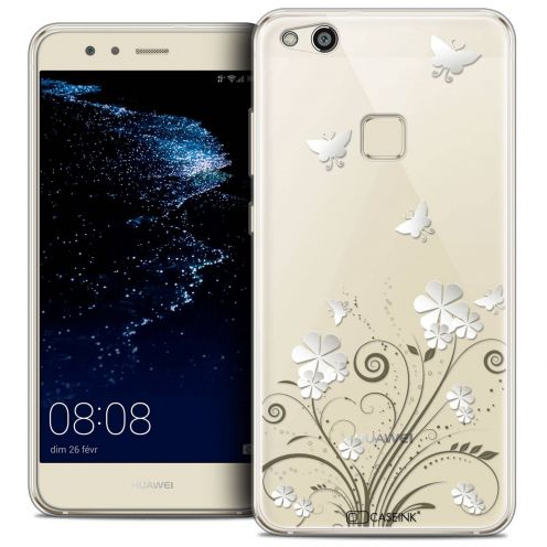 """Coque Crystal Gel Huawei P10 LITE (5.2"""") Extra Fine Summer - Papillons"""