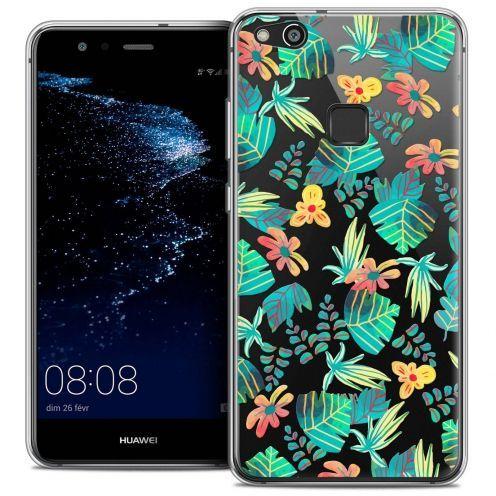 "Coque Crystal Gel Huawei P10 LITE (5.2"") Extra Fine Spring - Tropical"