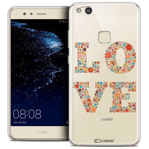 "Coque Crystal Gel Huawei P10 LITE (5.2"") Extra Fine Summer - Love Flowers"