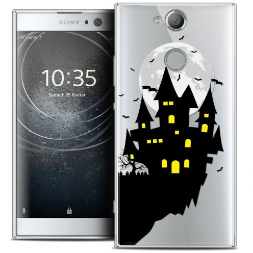 "Coque Crystal Gel Sony Xperia XA2 (5.2"") Extra Fine Halloween - Castle Dream"