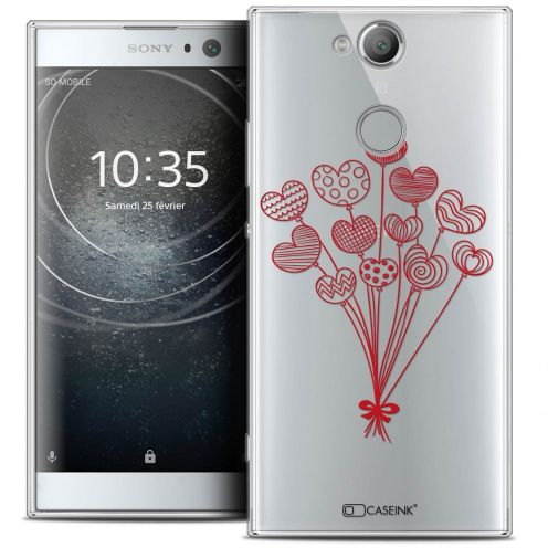 "Coque Crystal Gel Sony Xperia XA2 (5.2"") Extra Fine Love - Ballons d'amour"