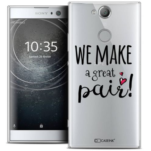 "Coque Crystal Gel Sony Xperia XA2 (5.2"") Extra Fine Love - We Make Great Pair"