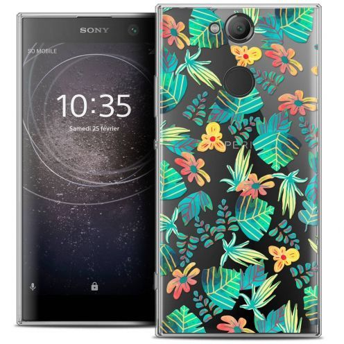 "Coque Crystal Gel Sony Xperia XA2 (5.2"") Extra Fine Spring - Tropical"