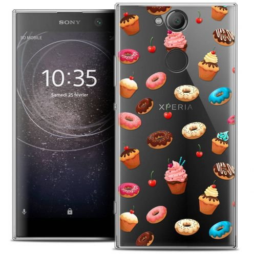 "Coque Crystal Gel Sony Xperia XA2 (5.2"") Extra Fine Foodie - Donuts"