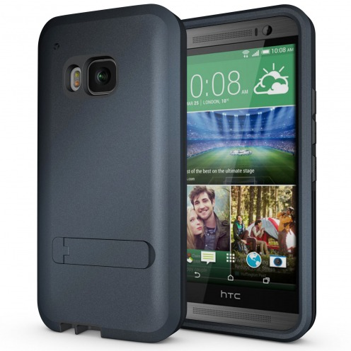 Coque HTC One M9 Antichoc Intégrale - Armor Defender 3 - Dark Blue