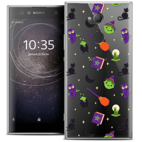 "Coque Crystal Gel Sony Xperia XA2 ULTRA (6"") Extra Fine Halloween - Witch Potter"
