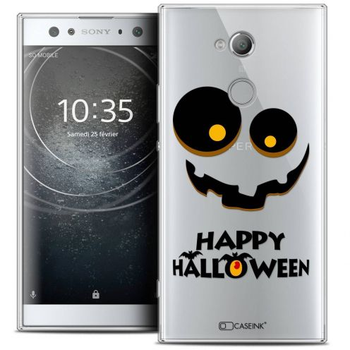 "Coque Crystal Gel Sony Xperia XA2 ULTRA (6"") Extra Fine Halloween - Happy"