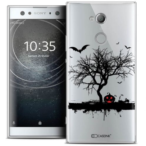 "Coque Crystal Gel Sony Xperia XA2 ULTRA (6"") Extra Fine Halloween - Devil's Tree"