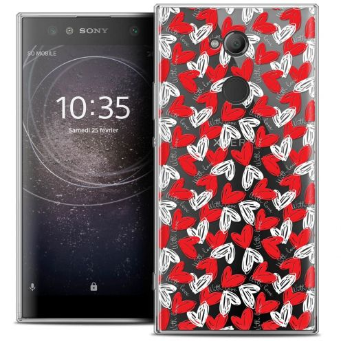 "Coque Crystal Gel Sony Xperia XA2 ULTRA (6"") Extra Fine Love - With Love"