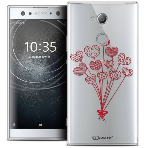 """Coque Crystal Gel Sony Xperia XA2 ULTRA (6"""") Extra Fine Love - Ballons d'amour"""