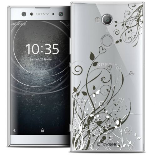 "Coque Crystal Gel Sony Xperia XA2 ULTRA (6"") Extra Fine Love - Hearts Flowers"